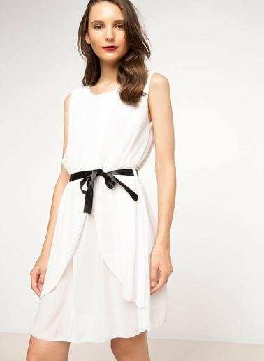 DeFacto Elbise Beyaz